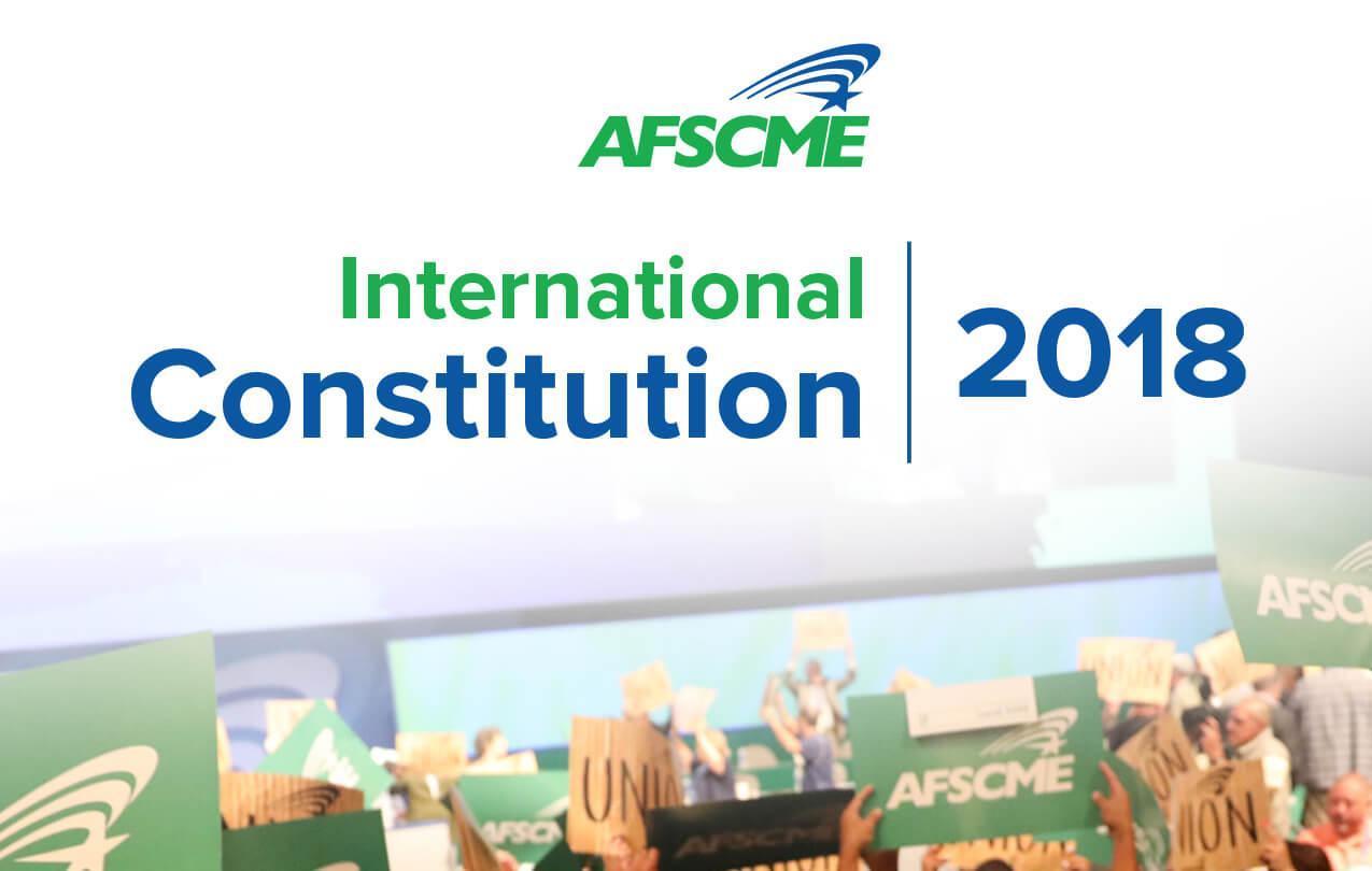 AFSCME Constitution